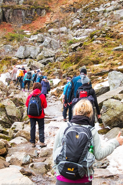 hiking, mountain, trail, people, kirsten, norway, 2015, photo