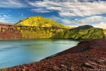 landmannalaugar, mountains, volcano, crater, lake, volcanic, iceland, 2016, photo