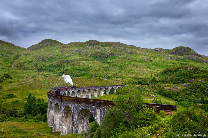 train, bridge, summer, highlands, mountain, scotland, 2014, photo