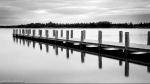 lake, reflection, bnw, water, long exposure, leipzig, germany, 2016, photo