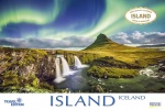 iceland, waterfall, sunset, wilderness, calendar, 2020, photo
