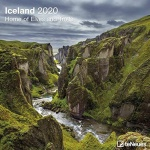 iceland, trolls, elves, wilderness calendar, canyon, 2020, photo
