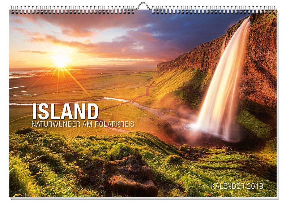 island kalender naturwunder 2019 cover island dave. Black Bedroom Furniture Sets. Home Design Ideas
