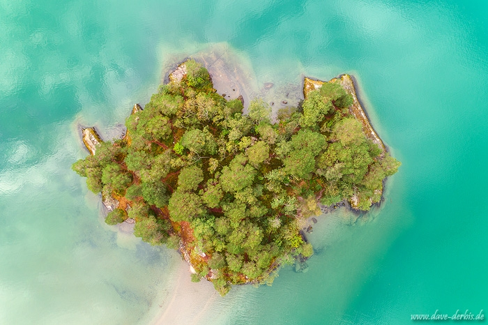 aerial, drone, island, lake, summer, from above, norway, 2019, photo