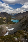 mountain, lake, alpine, trail, clouds, pass, swiss, 2012, Switzerland, photo