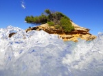 sa calobra, sea, coast, mountain, torrent, gorge, mallorca, spain, photo