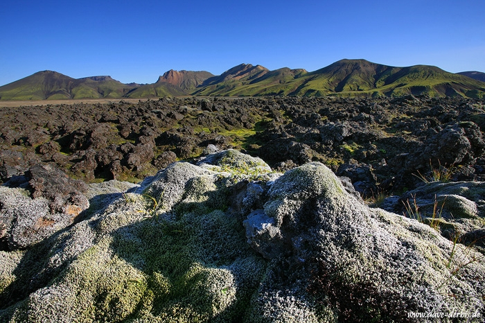 iceland, highlands, volcanic, mountain, moss, photo