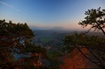 sunset, autumn, saxony, saxon switzerland, germany, 2012, Autumn Season 2012, photo