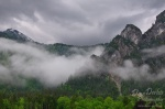 königssee, berchtesgaden, clouds, nationalpark, alpen, mountain, fog, mist, morning, schneebedeckt, germany, photo