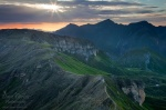 sunrise, alpes, mountain, twilight, clouds, alpen, hohe tauern, austria, Austria, photo