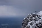 norway, cliff, coast, cape, north, storm, hurtigruten, photo