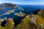 lofoten, reine, norway, mountain, ocean, coast, fjord, Hiking Reinebringen, photo