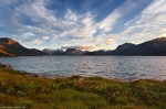 sunset, clouds, fjord, mountain, norway, lofoten, 2013, sea, ocean, photo
