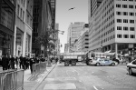 manhattan, skyscrapers, downtown, usa, new york city, new york, nyc, nypd, NYC Street, photo