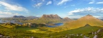 panorama, scotland, assynt, mountain, summit, view, 2014, photo