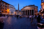 rome, blue hour, city, piazza, italy, Rome, photo