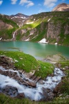 lake, hohe tauern, national park, alpes, glacier, mountain, austria, grossglockner, photo