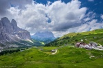 mountain, pass, view, road, summer, dolomites, italy, 2016, Italy, photo