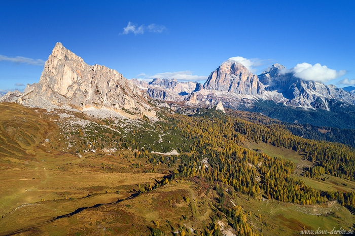 sunrise, drone, mountains, dolomites, autumn, fall, foliage, alps, italy, 2018, photo