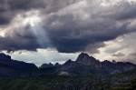 storm, dolomites, mountains, clouds, rugged, italy, 2011, photo