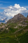 dolomites, mountain, storm, hiking, clouds, trail, 2011, italy, Italy, photo