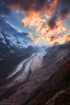 sunset, glacier, mountain, national park, winter, snow, hohe tauern, austria, 2010, Large Versions, photo
