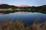 sunset, mountain, lake, alps, bavaria, alpenglow, reflection, germany, Germany, photo