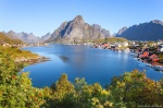 reine, lofoten, summer, mountains, village, norway, 2013, photo
