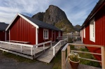 hut, rorbuer, reine, norway, lofoten, photo