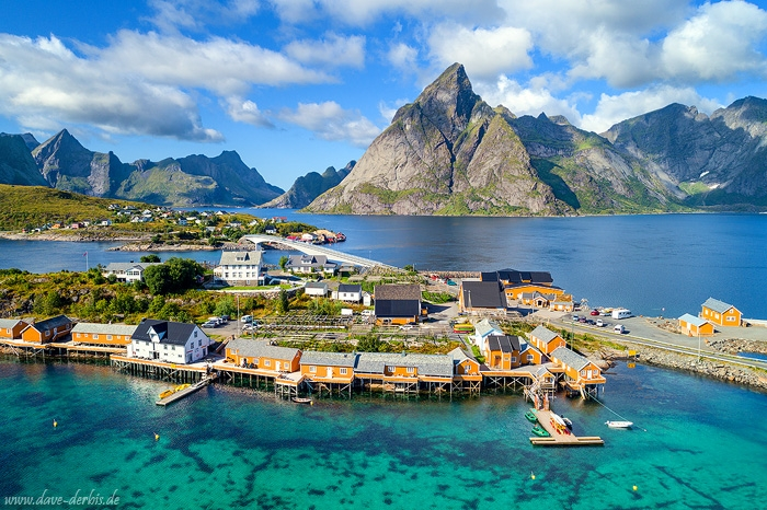 norway, lofoten, village, fishing, mountains, island, harbour, drone, 2017, photo