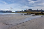 beach, arctic, mountain, sand, norway, lofoten, photo