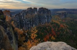 saxon switzerland, autumn, germany, 2013, Wandern auf die Schrammsteine, photo