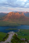 sunset, mountain, summit, range, remote, scotland, 2014, Scotland, photo