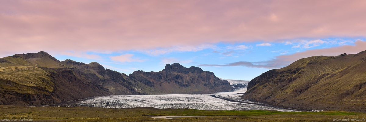 glacier, skaftafell, mountains, volcanic, moss, panorama, iceland, 2016, photo