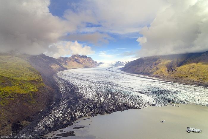 Skaftafellsjökull Glacier :: Iceland :: Dave Derbis :: Photography