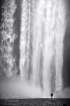 iceland, falls, skogafoss, coast, canon, assignment, remote, bnw
