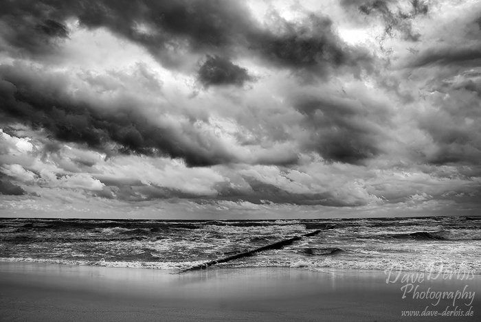 Stormy Spring Baltic Sea Dave Derbis Photography