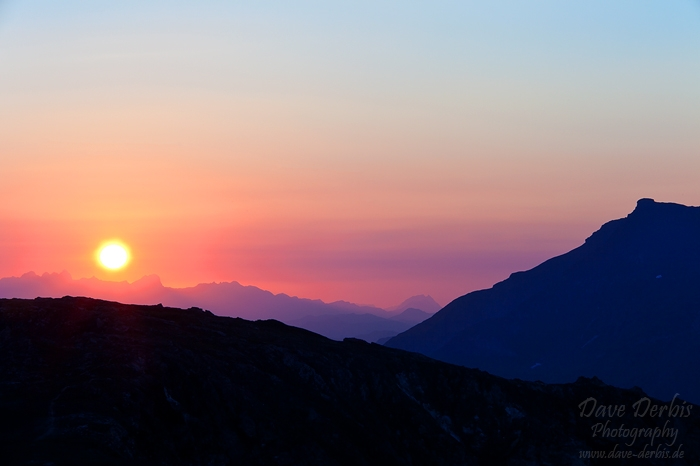 sunrise, alps, twilight, morning, austria, hohe tauern, photo