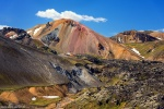 volcano, highlands, surreal, mountain, brennisteinsalda, landmannalaugar, iceland, 2017, photo