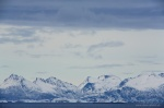 norway, boat, fjord, mountain, snow, hurtigruten, photo