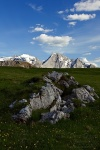 mountain, clouds, hiking, passo, pordoi, passo pordoi, rock, dolomites, italy, 2011, Italy, photo