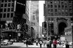 manhattan, skyscrapers, downtown, usa, new york city, new york, nyc, times square, NYC Street, photo