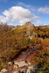 mountain, summit, autumn, svolvaer, lofoten, norway, photo