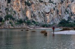 sa calobra, sea, coast, mountain, torrent, gorge, mallorca, spain