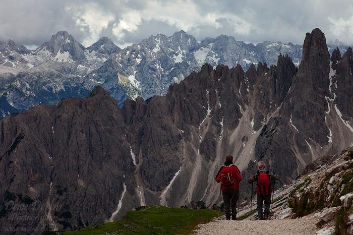tre cime de lavaredo hiking    rifugio auronzo    dave