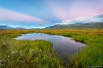 sunset, lake, reflection, mountains, grass, glacier, iceland, 2016, photo