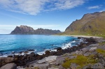 beach, arctic, ocean, lofoten, norway, rugged, mountain, norwegian sea, photo