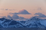 norway, sunset, boat, sea, mountain, snow, hurtigruten, photo