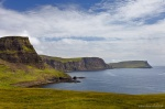 bay, coast, cliffs, ocean, mountain, rugged, remote, skye, scotland, 2014, photo