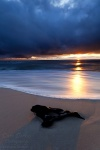 sunset, beach, baltic sea, reflection, remote, wave, sand, dramatic, sunstar, germany, Best Landscape Photos of 2011, photo
